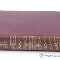 Libros de segunda mano: GIOVANI PAPINI, OBRAS II. BIOGRAFÍAS, RETRATOS. AGUILAR ED. 2º ED, 1960. Lote 23815914