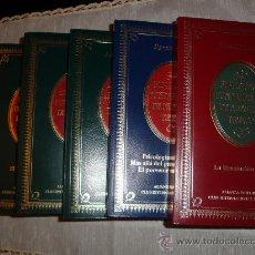 Libros de segunda mano: 6 TOMOS BIBLIOTECA FUNDAMENTAL DE NUESTRO TIEMPO. H. CARR, ASIMOV, HESSE, BAROJA, MACHADO, FREUD.. Lote 26993992