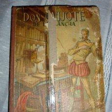 Libros de segunda mano: DON QUIJOTE DE LA MANCHA EDICCIÓN ESCOLAR 1963 HJOS DE S. RODRIGUEZ BURGOS. Lote 27527875