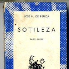 Libros de segunda mano: AUSTRAL 436 : PEREDA - SOTILEZA. Lote 25233350