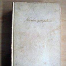 Libros de segunda mano: LIBRO DE CERVANTES NOVELAS EJEMPLARES 1971 CIRCULO DE LECTORES. Lote 25674344