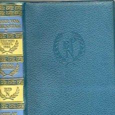 Libros de segunda mano: PREMIOS NOBEL AGUILAR : VERNER VON HEIDENSTAM. Lote 30444294