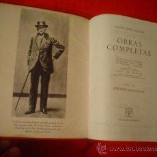 Libros de segunda mano: BENITO PÉREZ GALDÓS: OBRAS COMPLETAS TOMO III. Lote 25935787