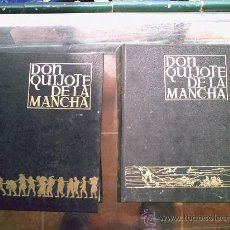 Libros de segunda mano: EL INGENIOSO HIDALGO DON QUIJOTE DE LA MANCHA (2 TOMOS). Lote 27589078
