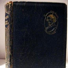 Libros de segunda mano: GUSTAVO ADOLFO BÉCQUER. OBRAS COMPLETAS. 1937. PRÓLOGO: SERAFÍN Y JOAQUÍN ÁLVAREZ QUINTERO. AGUILAR. Lote 27572937