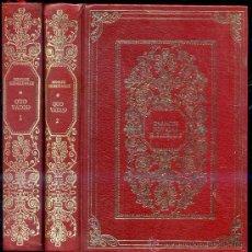 Libros de segunda mano: E. SIENKIEWICZ : QUO VADIS - DOS TOMOS. Lote 26218265