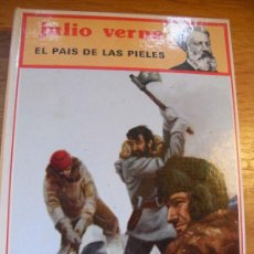 Libros de segunda mano: EL PAIS DE LAS PIELES - JULIO VERNE - MOLINO 1983 – TAPA DURA. Lote 26258509