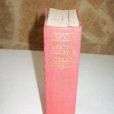 Libros de segunda mano: AGATHA CHRISTIE NOVELAS ESCOGIDAS-TOMO V-AGUILAR.- 1960.-EL LINCE ASTUTO. Lote 26326845