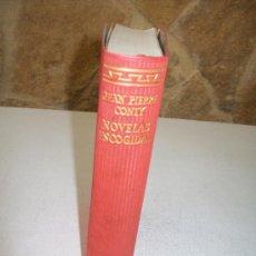 Libros de segunda mano: JEAN PIERRE CONTY NOVELAS ESCOGIDAS--AGUILAR.- 1962.-EL LINCE ASTUTO. Lote 26328039