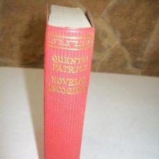 Libros de segunda mano: QUENTINPATRICK NOVELAS ESCOGIDAS--AGUILAR.- 1963.-EL LINCE ASTUTO. Lote 26328235