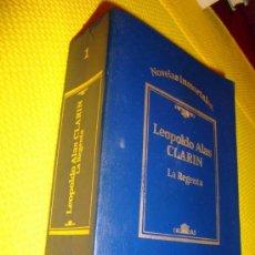 Libros de segunda mano: LIBRO DE LEOPOLDO ALAS CLARÍN, LA REGENTA DE SARPE, COLEC. NOVELAS INMORTALES 1984. Lote 26871636