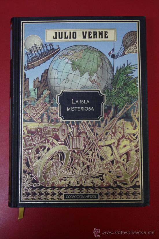 LA ISLA MISTERIOSA POR JULIO VERNE, COLECCIÓN HETZEL (Libros de Segunda Mano (posteriores a 1936) - Literatura - Narrativa - Clásicos)