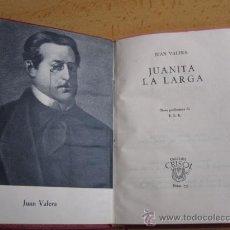 Libros de segunda mano: JUANITA LA LARGA - JUAN VARELA - EDI AGUILAR COL CRISOL -Nº 72 1960. Lote 27158030