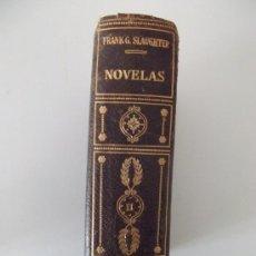 Libros de segunda mano: NOVELAS TOMO II. FRANK G. SLAUGHTER. PLANETA. 1958. Lote 27677127
