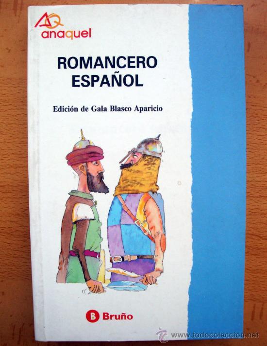 ROMANCERO ESPAÑOL DE BRUÑO, COLECCIÓN ANAQUEL Nº 24 1992 NUEVO (Libros de Segunda Mano (posteriores a 1936) - Literatura - Narrativa - Clásicos)