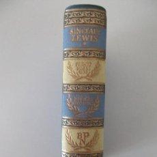 Libros de segunda mano: NOVELAS ESCOGIDAS. SINCLAIR LEWIS. AGUILAR. 1957. . Lote 27751809