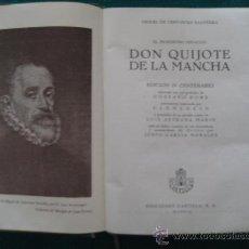 Libros de segunda mano: EL INGENIOSO HIDALGO DON QUIJOTE DE LA MANCHA. CERVANTES. ILUSTRADOPOR GUSTAVO DORÉ . Lote 27839251
