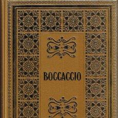 Libros de segunda mano: BOCCACCIO - DECAMERON - EDICIONES NAUTA - 1969 - LOMO SUPERIOR DORADO - MUY ILUSTRADO. Lote 27945965