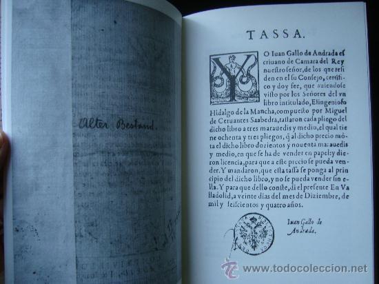 Libros de segunda mano: DON QUIJOTE DE LA MANCHA. Ejemplar de Innsbruck.Rara primera edición con TASA en VALLADOLID - Foto 12 - 165201030