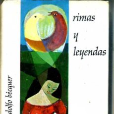 Libros de segunda mano: BÉCQUER : RIMAS Y LEYENDAS. Lote 28718730