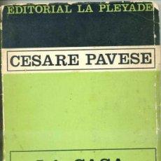 Libros de segunda mano: CESARE PAVESE : LA CASA EN LA COLINA. Lote 28718776