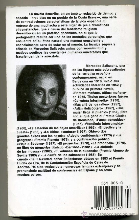 Libros de segunda mano: UNA MUJER LLEGA AL PUEBLO - MERCEDES SALISACHS - Foto 2 - 28875387