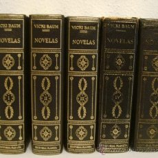 Libros de segunda mano: PLANETA: VICKI BAUM. NOVELAS . 5 TOMOS . 1973. Lote 29292954