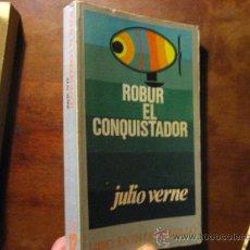 Libros de segunda mano: ROBUR EL CONQUISTADOR, JULIO VERNE , DONCEL VRA3. Lote 29493063