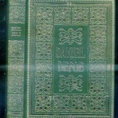 Libros de segunda mano: DANIEL DEFOE : ROBINSON CRUSOE / MOLL FLANDERS (NAUTA, 1971) EDICIÓN ILUSTRADA. Lote 96813791