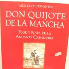 Libros de segunda mano: + EL QUIJOTE MIGUEL DE CERVANTES CON LAMINARIO CONMEMORATIVO DEL CENTENARIO. GERARDO TRIVES .DON. Lote 30047185