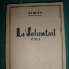 Libros de segunda mano: LA VOLUTAD DE AZORIN. BIBLIOTECA NUEVA. MADRID 1939. AÑO DE LA VICTORIA.. Lote 30334014