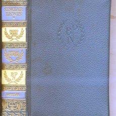 Libros de segunda mano: PREMIOS NOBEL AGUILAR : SINCLAIR LEWIS I. Lote 37031192