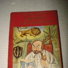 Libros de segunda mano: ANTIGUO LIBRO TARTARIN DE TARASCON DE ALFONSO DAUDET ILUSTRACIONES DE LISA. AÑO 1946.. Lote 30691334