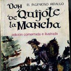 Libros de segunda mano: CERVANTES : DON QUIJOTE DE LA MANCHA (1966) . Lote 30914565