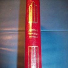 Libros de segunda mano: WERTHER, REINEKE - GOETHE. (CRISOL ; 23). Lote 30959115