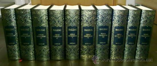 OBRAS COMPLETAS DE HONORÉ DE BALZAC (ED. AGUILAR RBA) 2004-2005 (COMPLETA EN 10 TOMOS) COMO NUEVA!! (Libros de Segunda Mano (posteriores a 1936) - Literatura - Narrativa - Clásicos)
