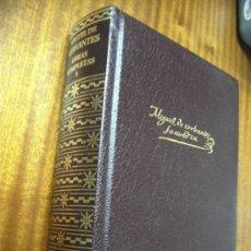 Libros de segunda mano: MIGUEL DE CERVANTES SAAVEDRA / OBRAS COMPLETAS / AGUILAR 2003. Lote 31446606
