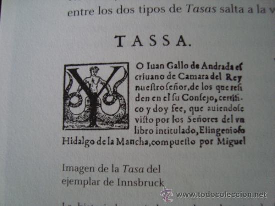 Libros de segunda mano: DON QUIJOTE DE LA MANCHA. Ejemplar de Innsbruck.Rara primera edición con TASA en VALLADOLID - Foto 21 - 165201030