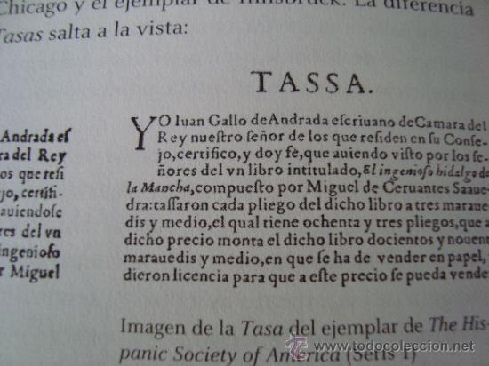 Libros de segunda mano: DON QUIJOTE DE LA MANCHA. Ejemplar de Innsbruck.Rara primera edición con TASA en VALLADOLID - Foto 22 - 165201030