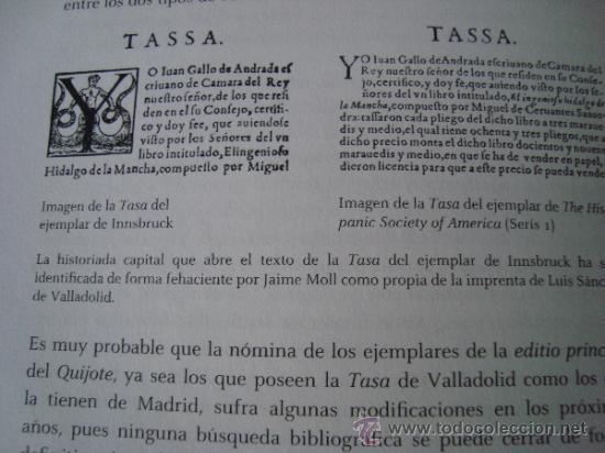 Libros de segunda mano: DON QUIJOTE DE LA MANCHA. Ejemplar de Innsbruck.Rara primera edición con TASA en VALLADOLID - Foto 20 - 165201030