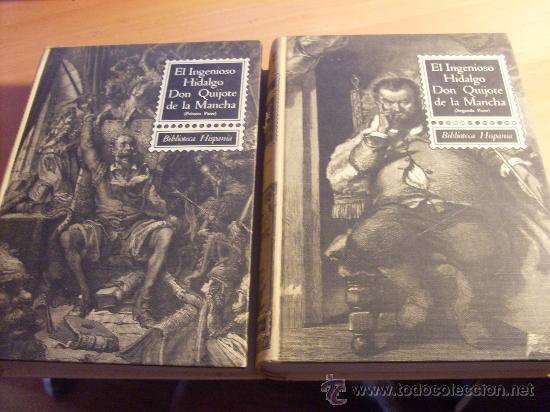 EL INGENIOSO HIDALGO DON QUIJOTE DE LA MANCHA I & II (ED. SOPENA 1966) ILUSTRADO 280 GRABADOS (LBB8) (Libros de Segunda Mano (posteriores a 1936) - Literatura - Narrativa - Clásicos)