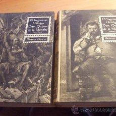 Libros de segunda mano: EL INGENIOSO HIDALGO DON QUIJOTE DE LA MANCHA I & II (ED. SOPENA 1966) ILUSTRADO 280 GRABADOS (LBB8). Lote 32362302