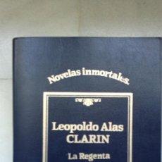 Libros de segunda mano: LA REGENTA LEOPOLDO ALAS CLARIN (SARPE). Lote 32437858