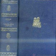 Libros de segunda mano: ALEJANDRO DUMAS : VEINTE AÑOS DESPUÉS (LORENZANA, 1970). Lote 233687365