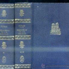 Libros de segunda mano: ALEJANDRO DUMAS : MEMORIAS DE UN MÉDICO - DOS TOMOS (LORENZANA, 1970). Lote 114229560