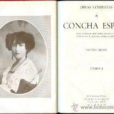 Libros de segunda mano: NUMULITE L0169 CONCHA ESPINA OBRAS COMPLETAS 2 TOMOS EDITORIAL FAX 1955. Lote 32570936