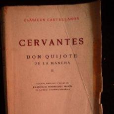 Libros de segunda mano: DON QUIJOTE DE LA MANCHA. 2 TOMOS. ESPASA CALPE. 1964. Lote 32657589