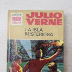 Libros de segunda mano: LA ISLA MISTERIOSA - JULIO VERNE - HISTORIAS SELECCIÓN - BRUGUERA - Nº9 - 10ª EDICIÓN MAYO 1978. Lote 32827418