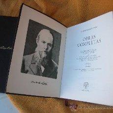 Libros de segunda mano: FIODOR M .DOSTOYEVSKI -TOMOS I Y II OBRAS COMPLETAS. Lote 32946337