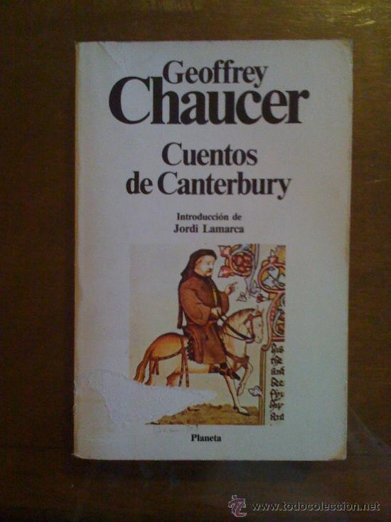 LOS CUENTOS DE CANTERBURY CHAUCER EBOOK